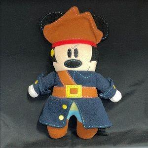 Disneyland Pirate Mickey Plush Doll